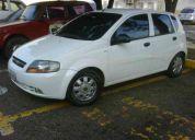 Vendo aveo 2005 sincronico 4 puertas blanco 90.000,oo