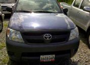 Toyota hilux 2009 2.7 v4 sincronica 52.000km color azul
