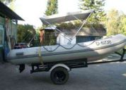 Vendo bote inflable caribe