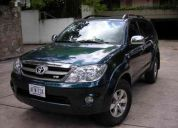 Toyota fortuner automÁtica 2007