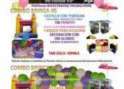 Fiesta infantiles cotillones, colchones, pinta caritas, perritos calientes, kioscos y mas.