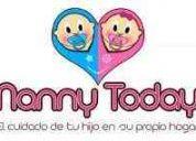 Nanny today / agencia de niÑeras