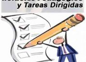 tareas dirigidas, edades desde 4 a 12 años- docente graduada