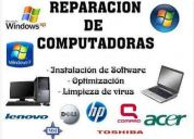Servicio técnico domicilio computación y redes