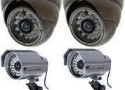 Sistemas de camaras, dvr y conexion internet, total garantia!!!!!!