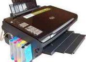 Instalacion de sistemas de tinta continua para todo tipo de hp y espon tx 120
