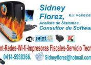 Saint professional startup servicio de instalacion, instalacion de impresora fiscal.