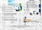 servicio tecnico para computadoras, redes, servidores