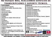 Transcripciones y soporte tecnico