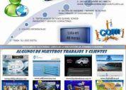 Promo escoge tu pagina web 2 modelos + dominio + hosting + obsequio publicidad en ...