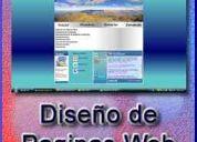 Diseño de paginas web, hosting, mantenimiento de sitios web, isla de margarita