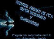 Servicio tecnico reparacion de computadoras super economico y garantizado