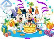 Organizacion, logistica y planificacion de fiestas infantiles