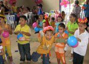 Fiestas infantiles mimos zanqueros recreadores sonido