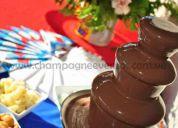 Alquiler de fuentes de chocolate, cocktail, castillos inflables porlamar isla de margarita