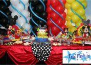 Cumpleaños fiestas piñatas decoracion cotillones maracaibo