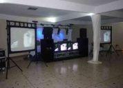 Sonido e iluminacion para fiestas infantils quinceaños matrimonio eventos