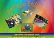 Alquiler de inflables,  sillas y mesas para niños y mucho ma