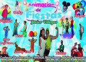Animacion de fiestas infantiles , magos, titeres , recreadores