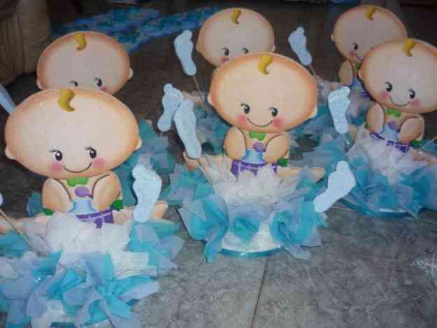 centros de mesa para baby shower de nino grcom info
