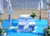 Te ofrecemos propuestas presonalizadas para realizar tu boda 3bol