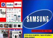 Servicios de neveras lavadoras,cocinas,secadoras,microondas,aires,garantizado