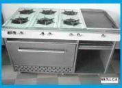 Reparacion de equipo de cocina industrial 04167169497