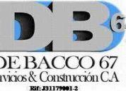 De bacco67, servicios y construcción, c.a.