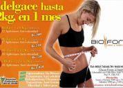 Adelgaza de forma segura, efectiva y saludable 12kg en 1 mes evaluacion y consulta gratis