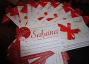 Bono de regalo - centro de medicina estetica sahana