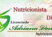 Nutricionista ucv: control metabólico, lipídico y tratamiento de enfermedades hormonales.
