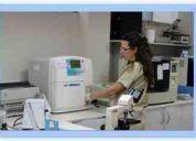 Laboratorio clínico social ocupacional.