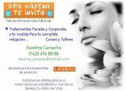 Spa facial, cursos, talleres, tratamientos faciales...