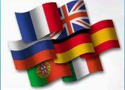 Traductor español-ruso, ruso-español / español-ingles, ingles-español / ingles-ruso