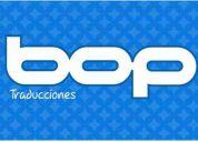 Interprete publico - español-ingles - bop traducciones