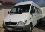 Servicio transporte privado springter mercedes bens 19 puestos