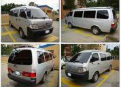 Taxi ejecutivo. servicio de vans ejecutivo