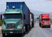 Solicitud de transporte de carga pesada