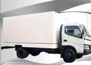 Se hacen mudanzas en camiones con cavas de aluminio 450,600 camiones cava con thermoking..