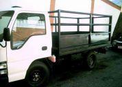 Servicios de transportes, camion tipo baranda, o pick up.