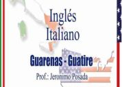 Clases de ingles e italiano en guarenas - guatire