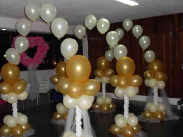 decoración de globos para bodas - imagui