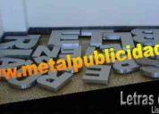 Letras acero caracas 04141514566 bronce hierro aluminio