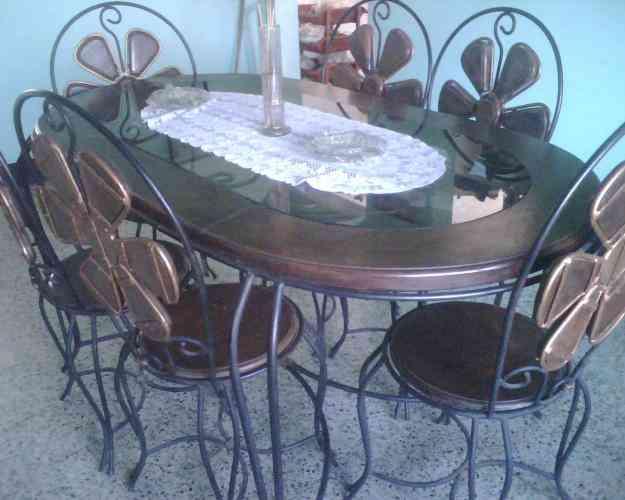 Juego de comedor charallave hogar jardin muebles - Juego de comedor segunda mano ...