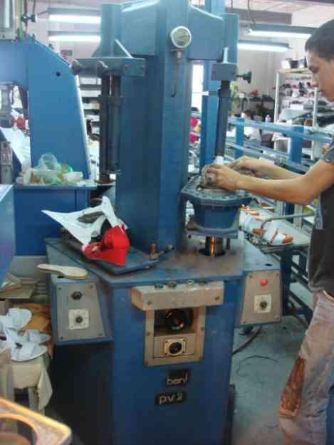 Prensa hidraulica para el calzado plana italiana caracas negocios insumos