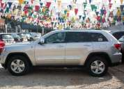 0 kilometros grand cherokee 2012 limited 4x4 color plata. inf 0414.5692081