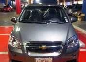 Chevrolet aveo 2012 lt.