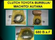 Clutch para aire acondicionado automotrÍz toyota burbuja/ machito