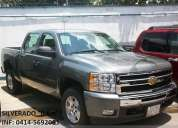 Chevrolet doble cabina silverado 0km 2011 lt 4x4 gris roca. inf. 0414-5692081