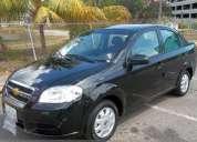 Chevrolet 2011 aveo lt 0km, negro, solo contado. 0414-5692081